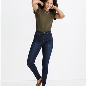 Madewell Curvy High-Rise Skinny Jeans Larkspur